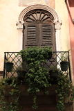 Finestre veneziane Immagine Stock