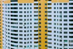 Finestre vuote del grattacielo, giorno, all'aperto Immagini Stock
