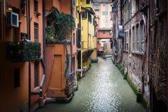 Finestrella di Via Piella photographie stock libre de droits