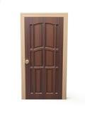 Finewood door Stock Photo