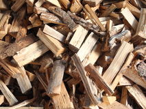 Finewood. A partof a forewood pile Stock Images