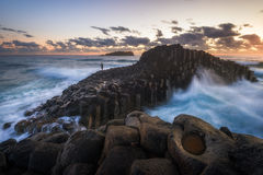 Fingal Head, Australia Stock Photo
