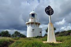 Fingal Head lighthouse Royalty Free Stock Image