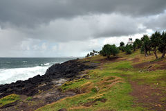 Fingal Head lighthouse Stock Photo