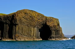 Fingal jama. Szkocja Obrazy Stock