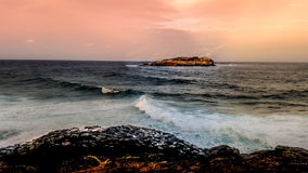 Fingal Lighthouse. This picture was taken from Fingal Lighthouse, New South Wales, Aiustralia and later edited in photoshop and lightroom Royalty Free Stock Image