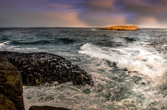 Fingal Lighthouse From Side Stock Images