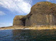 Fingal's Cave. On the Isle of Staffa Royalty Free Stock Images