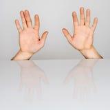Finger 10 Lizenzfreie Stockfotos