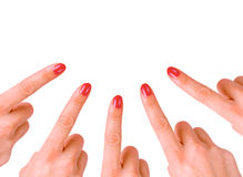 Finger Royalty Free Stock Photography