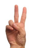 Finger 2 Stock Photography