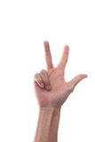 Finger 3 Royalty Free Stock Photos