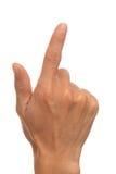 Finger 8 Stockfotografie