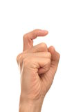 Finger 9 Royalty Free Stock Images