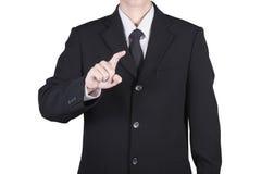 finger av affärsmannen Arkivfoto
