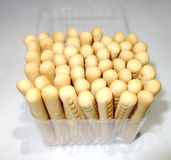 Finger biscuits Royalty Free Stock Images