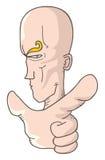 Finger cartoon Stock Photo