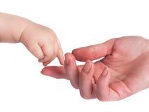 Finger child Stock Photo