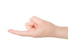 Finger concept Royalty Free Stock Photos