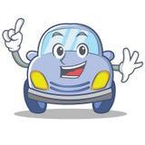 Finger cute car character cartoon Royalty Free Stock Photography