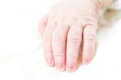 Finger del bebé Imágenes de archivo libres de regalías