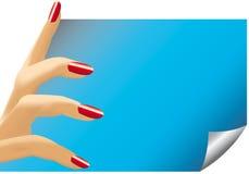 Finger der Frau Stockbilder