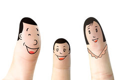 Finger(family) royalty free stock photography