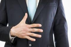 Finger fem Arkivbild