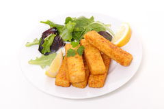 Finger fish stick Royalty Free Stock Photos