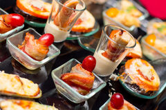 Finger Food appetizer Stock Image