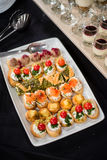Finger-food, buffet Royalty Free Stock Photography