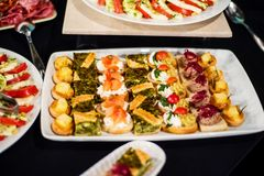 Finger-food, buffet Stock Images
