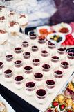 Finger-food, buffet Royalty Free Stock Images