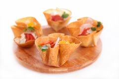 Finger food, buffet food Stock Images