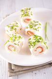 Finger food, canape Royalty Free Stock Photography