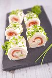 Finger food, canape Royalty Free Stock Photo