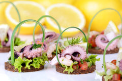 Finger food Stock Images