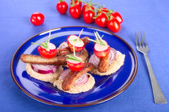 Finger food Stock Images