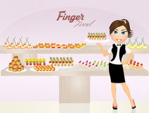 Finger food Royalty Free Stock Photography