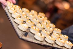 Finger food at a Party event Malta stock image