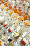 Finger food Stock Photography