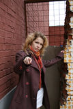 finger girl pointing you Στοκ Φωτογραφίες