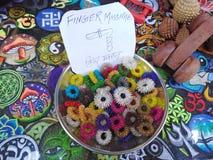 Finger massge device for sale in shop. Goa, India.