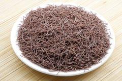 Finger millet noodles Royalty Free Stock Images