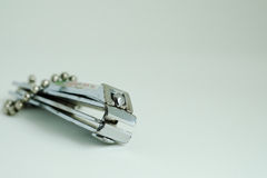 Finger nail clipper Stock Image