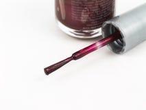 Finger nail polish Stock Photos