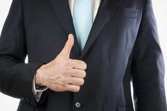Finger one Stock Image
