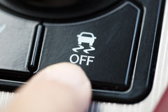 Free Finger Pressing Traction Control System Button Stock Photography - 78289952