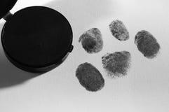 Finger print. Stock Image