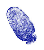 Finger-print Stock Photography